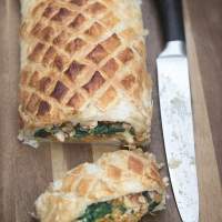 Butternut Squash & Walnut Wellington