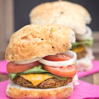 Butternut Squash and Carrot Burger