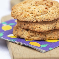 Lemon and Ginger Cookies - Vegan and Gluten-Free