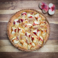 Peach and Frangipane Tart