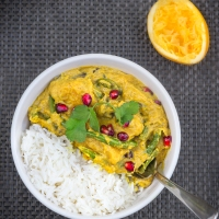 Delicately-Spiced Pumpkin Curry