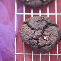 Double Chocolate & Pecan Cookies – Vegan and Gluten Free