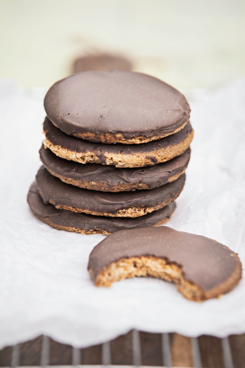 Vegan Chocolate Biscuits
