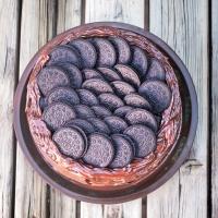 Four Layer Vegan Chocolate Oreo Cake