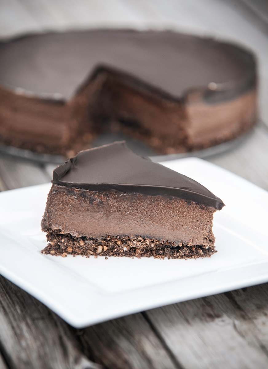 Avocado Chocolate Cheesecake